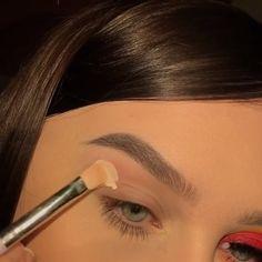 Makeup Inspo, Makeup Art, Makeup Inspiration, Eye Makeup, Hair Makeup, Pageant Makeup, Summer Makeup Looks, Aesthetic Makeup, How To Make Hair