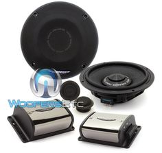 "Image Dynamics IDQ65CS 125W RMS 6.5"" 2-Way iDQ Series Component Car Speaker System. Power Handling: RMS Power: 125W RMS 