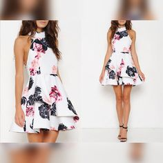 STUDIOL9   Mock Neck Floral Pattern Dress  - Dress how you wish to be dealt with. http://www.studiol9.com/#!product-page/c6np/9a3902d9-b9ac-d0b0-feb4-e2c17b001862
