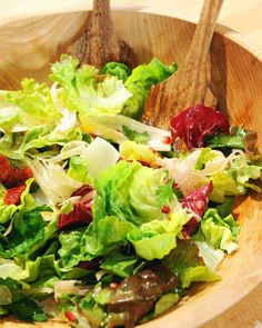 Radicchio and Endive Salad with Oranges, Fennel, and Pomegranate Seeds Recipe