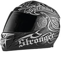 Speed and Strength - SS1000 The Power And The Glory Helmet