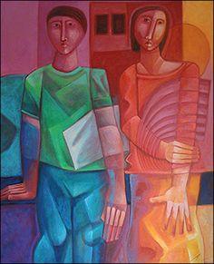 The Couple I by Adelio Sarro