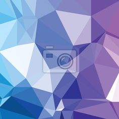 Wall Mural Background abstract triangle pattern colorful diamond jewelry