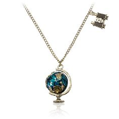 Vintage Tellurion Telescope Charms Pendant Chain by pooqDESIGN, $8.00
