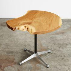 "single slab ""round""  #UrbanHardwoods #SalvagedWood"