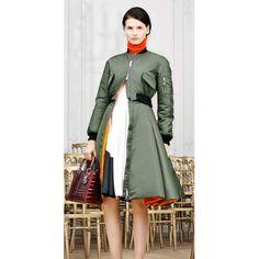 DIOR Khaki Synthetic Coat