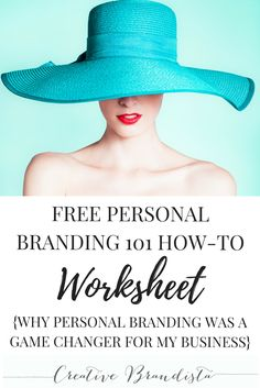 Why Personal Branding Was A Game Changer For My Business | Free Personal Branding 101 Worksheet | Online marketing business building strategies for creative women in business | social media training for direct sales/network marketing