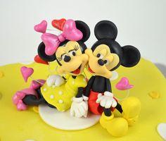 Mickey & Minnie Mouse Cake