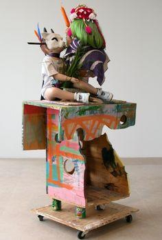 http://www.greenenaftaligallery.com/artists/rachel-harrison