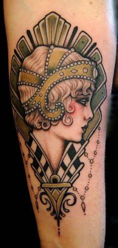 great-gatsby-flapper-girl-20s-tattoo