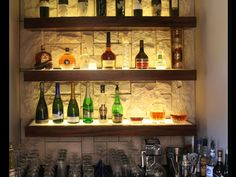 bar shelving ideas