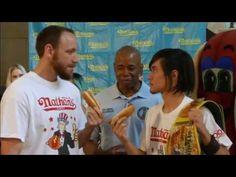 Hot Dog Eating Contest on cjn news