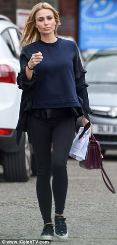 The old stepped out in her native Liverpool ahead of a visit to a local nail salon, where she indulged in a welcome manicure – possibly her last before giving birth. Alex Gerrard, Steven Gerrard, Captain Fantastic, Baby Bumps, Lp, Family Photos, Hair Ideas, Wraps, Women