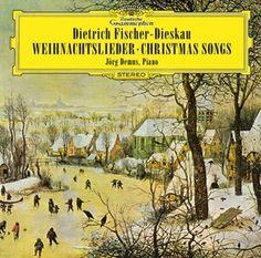 DIETRICH FISCHER-DIESKAU Weihnachtslieder - Deutsche Grammophon