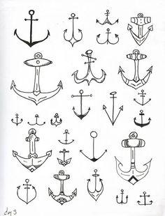 Anchor tattoo anyone?