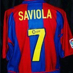 2002/03 Barcelona home shirt XL from @shirtkingsoe - great Barcelona home shirt (Saviola #7) for 30. Buy now on http://ift.tt/1dRUZVs #fcb #barca #barcelona #classicfootball #saviola #liga #fcbarcelona #football #footballshirt #footballshirtcollective #classicfootball #vintagefootball #trikot #kitnerd #kitporn
