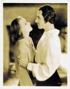 Greta Garbo and John Gilbert, Queen Christina.