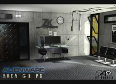 Sims 4 CC's - The Best: Alienware Area 51 PC by Daer0n