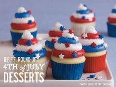 4th of july desserts | 4th of July Desserts | Best Friends For Frosting