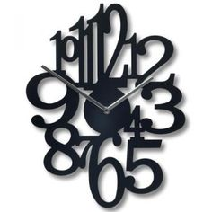 Typography and clocks in one!
