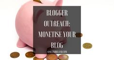 Blogger Outreach – You don't have to be a Pro to monetise your blog! *