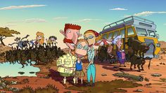 The Wild Thornberrys....this was one of MY favorites when the boys were growing up!