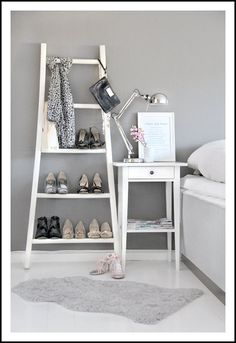 Reciclar una escalera como zapatero (I)