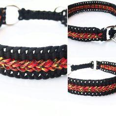 Paracord collar. Obroża dla psa.
