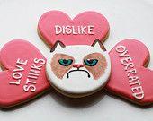 OMG! grumpy cat cookies!