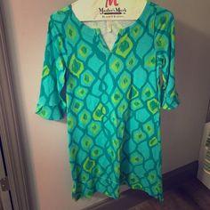 NWOT Hatley Dress, size M Never been worn, size M, three-quarter length sleeved dress Hatley Dresses