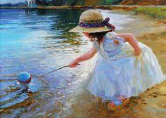 Oil paintings by Vladimir Volegov -