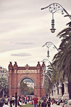 Arc de Triomf ,  Barcelona  Catalonia