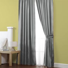 Cortina Blackout Gris #Basicos #Cortinas #Hogar #IntimaHogar #Decoracion
