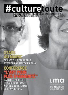 """Culturetoute24  Nous sommes le Jeudi 14 Avril 2016 !  ➡ En couverture. Conférence """"L'art pour plus d'humanité"""". Cliquez sur la couverture. ➡ STARS…"""