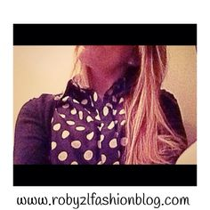 #dots #shirt #a #new  #year #with #polka #dots :)  now on my #fashionblog www.robyzlfashionblog.com #style #look #ootd