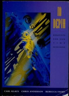 In Depth by Carl H. Klaus, http://www.amazon.com/dp/0155001728/ref=cm_sw_r_pi_dp_ekNWrb1KFN1WK