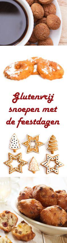 Als je geen gluten verdraagt, kan het best lastig zijn om wat lekkers in huis te halen voor de feestdagen. Probeer eens deze recepten voor speculaas, kruidnootjes, kerstkransjes, oliebollen en appelbeignets. Allemaal zonder gluten.   http://www.gezondheidsnet.nl/gezellige-en-gezonde-feestdagen/artikelen/12347/glutenvrij-snoepen-met-de-feestdagen #glutenvrij #recept #sinterklaas #kerst #feestdagen