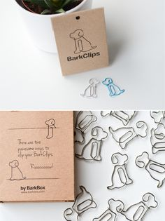 Here at Bark & Co, we ruv pups so much that we want them to be incorporated in every aspect of our lives, including office supplies. Because of this, we tried to create the most amazing paperclip EVER…