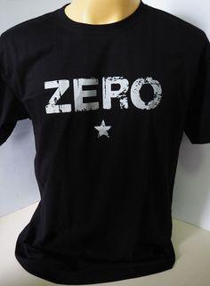 682a5a18 The Smashing Pumpkins Zero alternative rock band gray on black t shirt size  S-XL