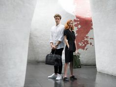 Unisex Leather Accessories - Von-Röutte Bags - Weekender Bag and Olive Shopper Tote