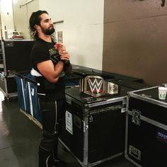 WWE World Heavyweight Champion Seth Rollins. Wwe Seth Rollins, Seth Freakin Rollins, Wwe 2k, Rebecca Quin, Burn It Down, Lucha Underground, Solo Pics, Wwe World, Wwe Champions