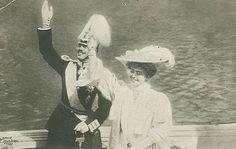 Kronprinz Gustaf Adolf von Schweden mit Prinzessin Margaret of Connaught