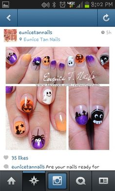 #halloween #halloweennails #nails #nailart