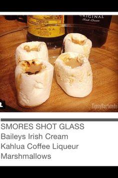 Smores Shot Glass