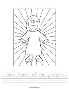 jesus customizable coloring pages