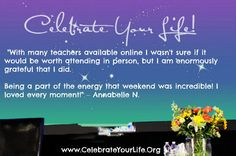 Why Celebrate Your Life? Just ask Annabelle and then join us at #CYLPhoenix to see for yourself.