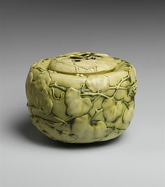 Bowl, porcelaneous earthenware, Tiffany Studios, 1904–09