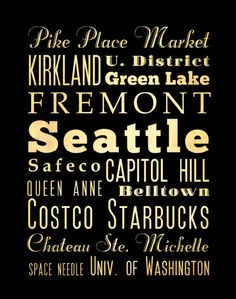 Etsy の Seattle Bus / Transit / Subway Roll / by LegacyHouseArt