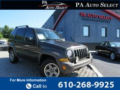2006 *Jeep*  *Liberty* *Renegade* *3.7L* *V6* *4x4*  149k miles $6,995 149539 miles 610-268-9925 Transmission: Automatic  #Jeep #Liberty Renegade #used #cars #PAAutoSelect #Downingtown #PA #tapcars