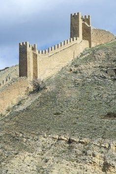 albarracín: muralla